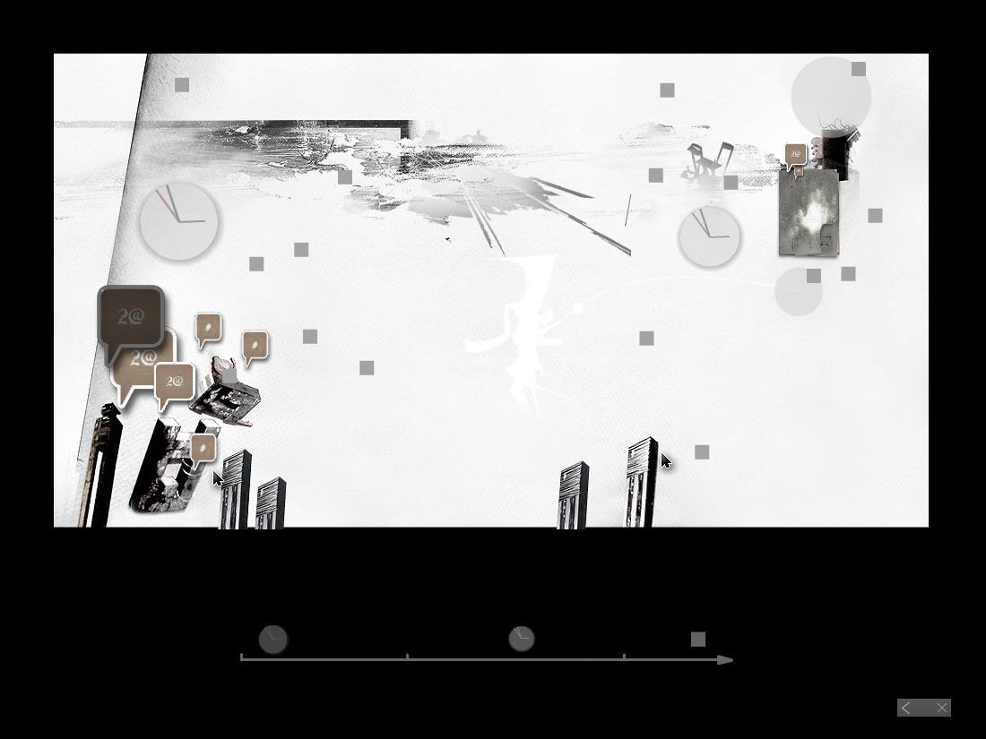 Jacek Doroszenko - Aesthetic Interface for Memory, screen 2