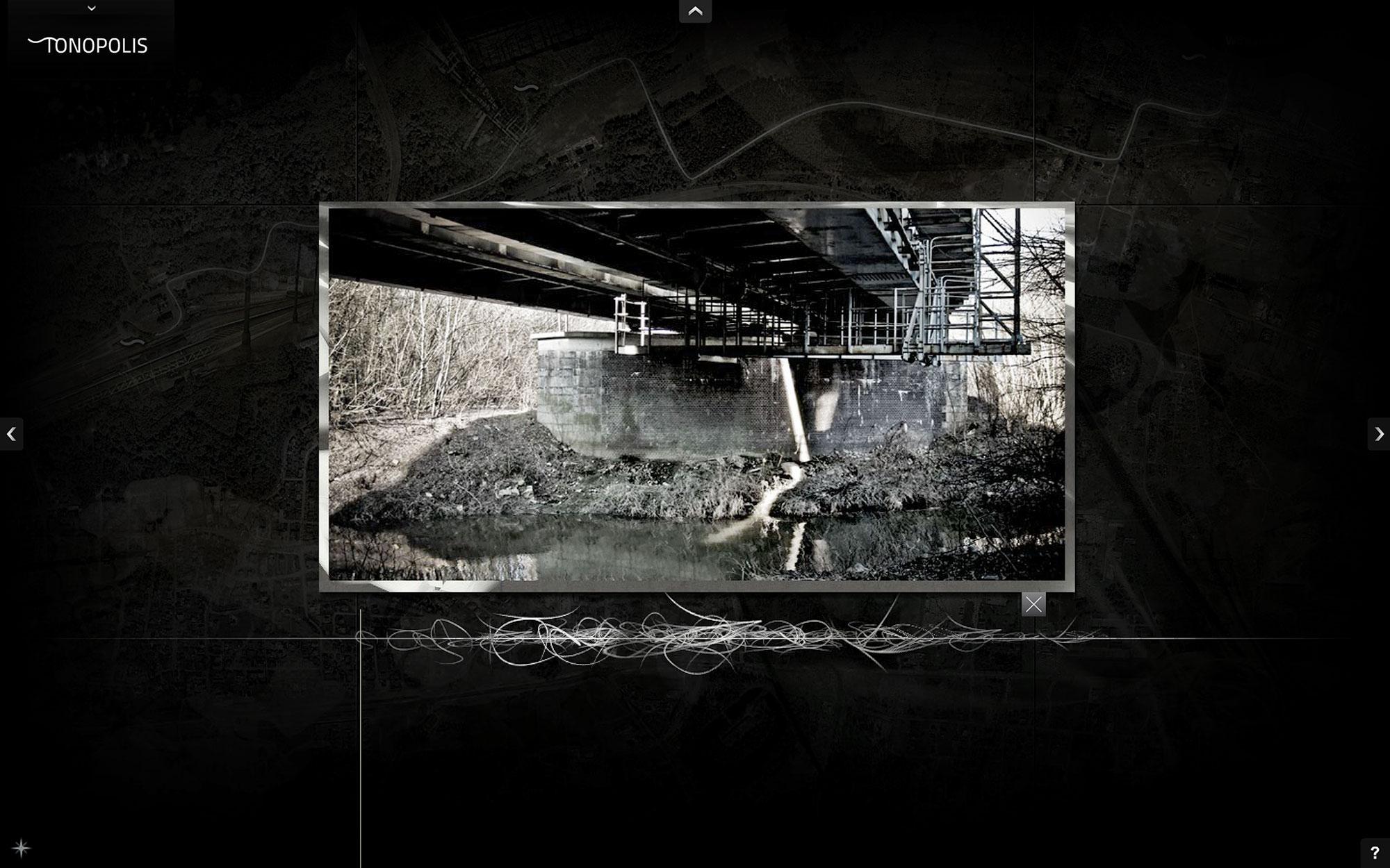 Jacek Doroszenko - Tonopolis, interactive installation, screen 4
