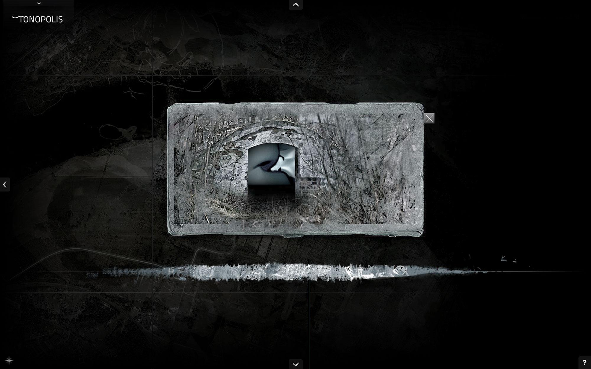 Jacek Doroszenko - Tonopolis, interactive installation, screen 3