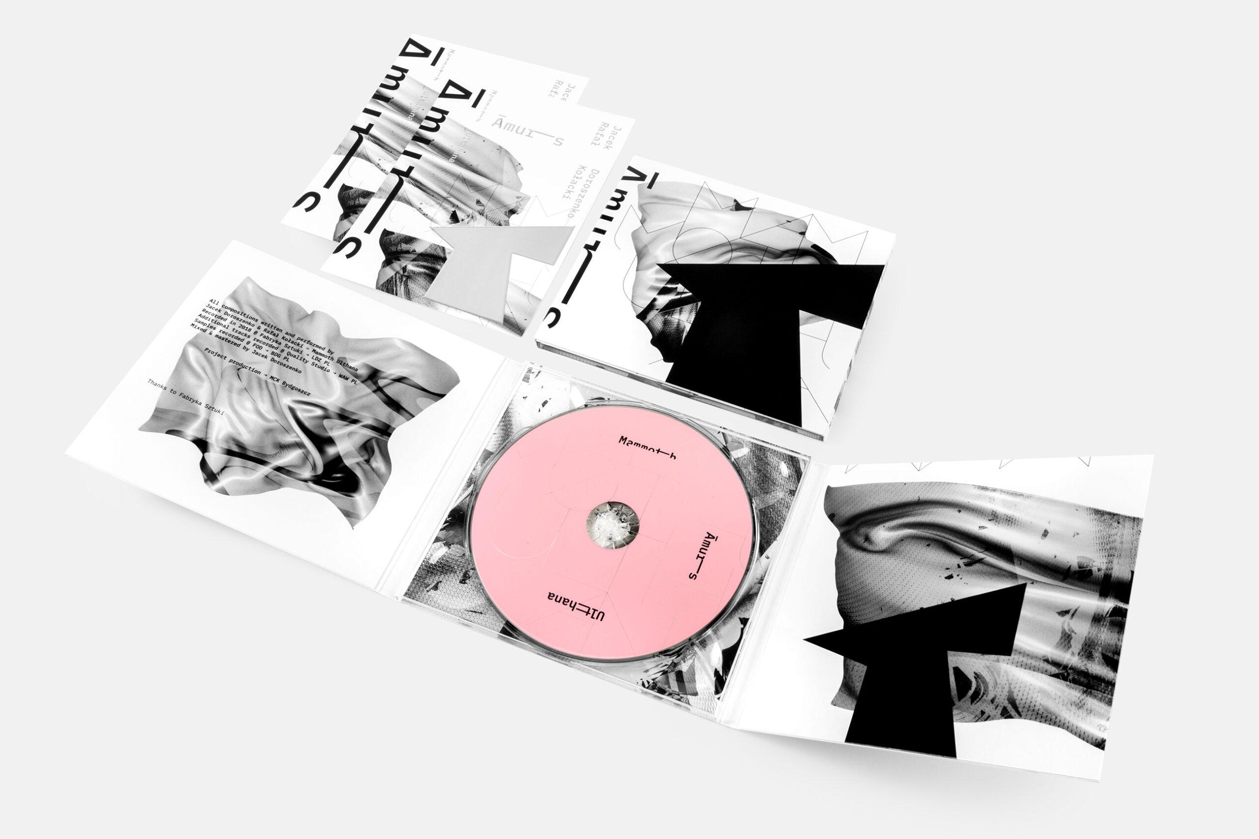 Contemporary artist Jacek Doroszenko - Amurs, music album 03