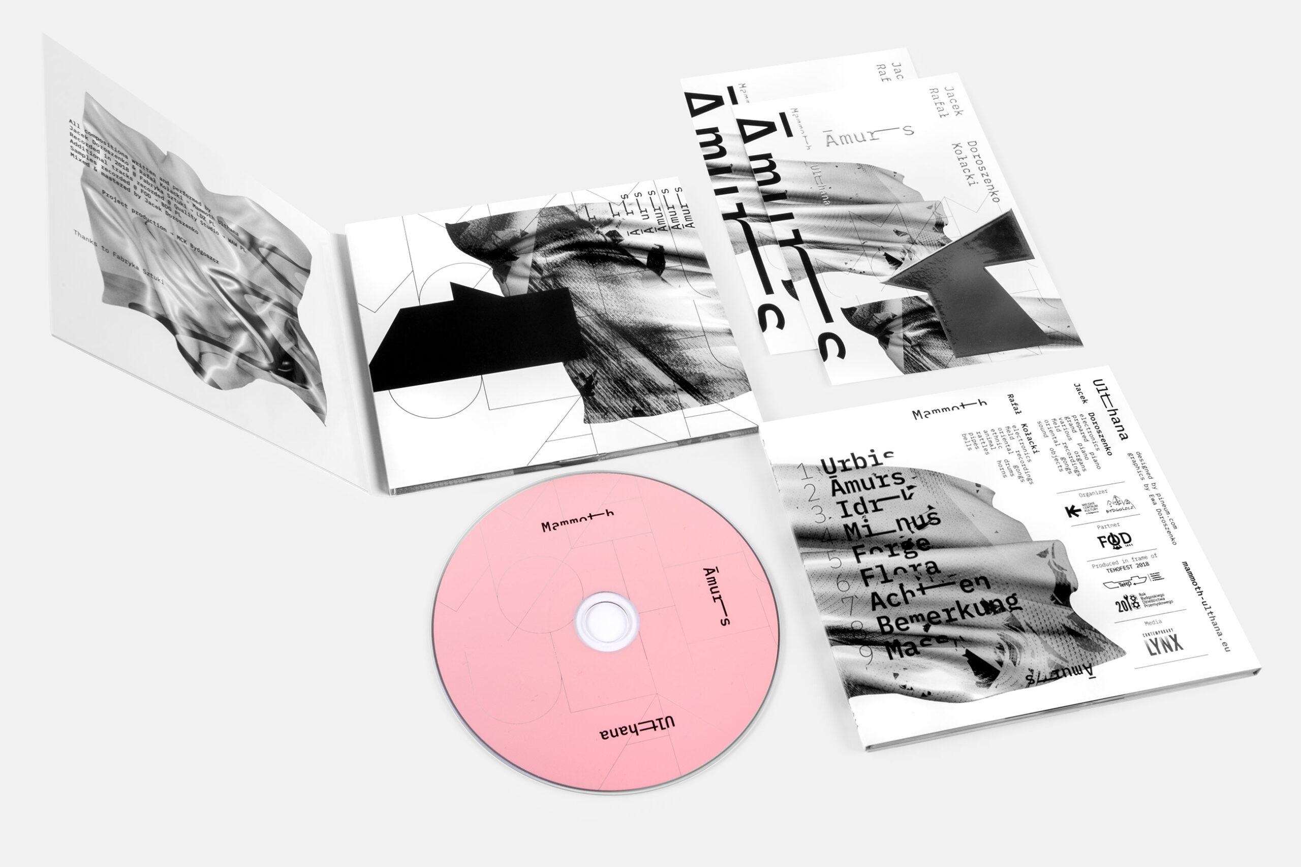 Contemporary artist Jacek Doroszenko - Amurs, music album 02