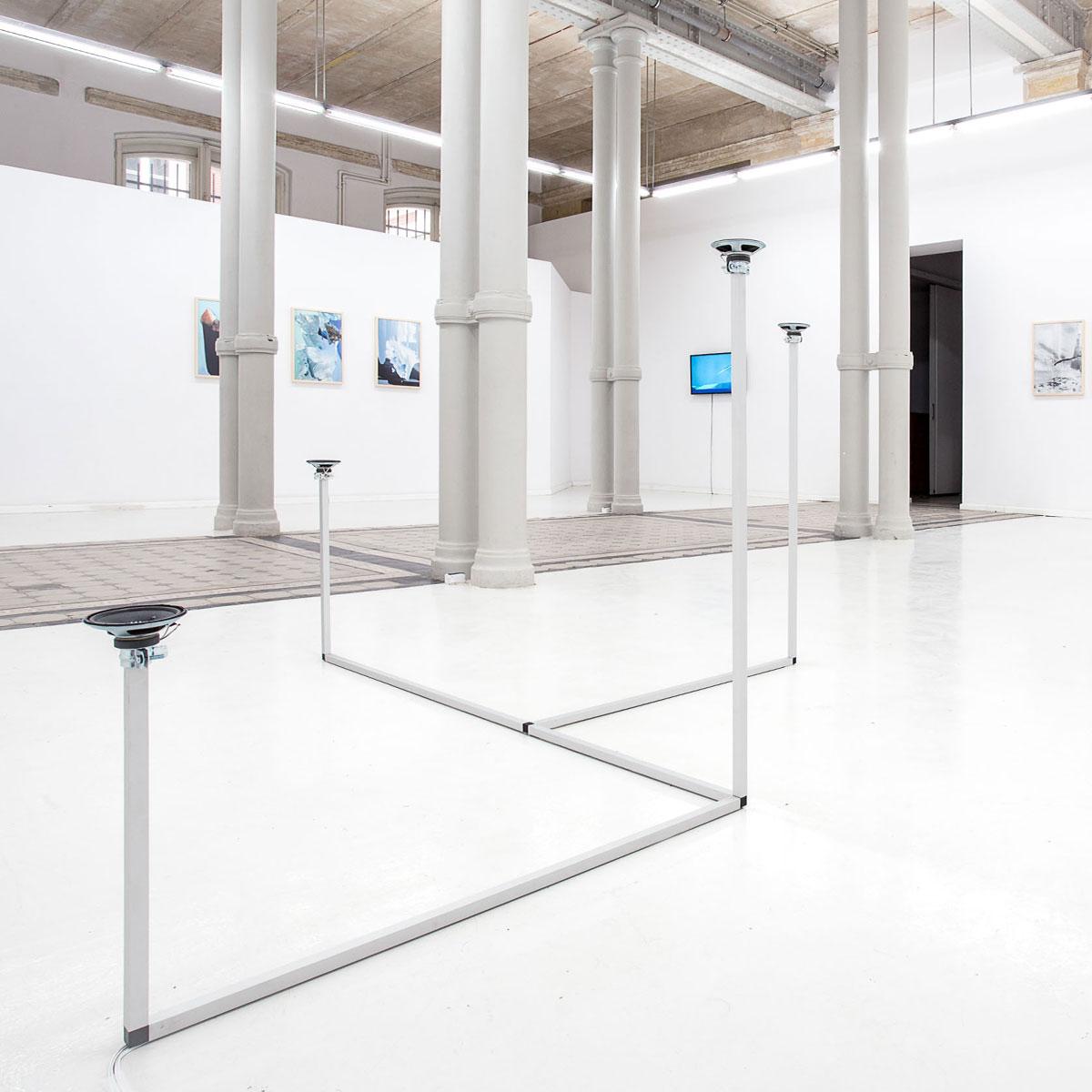 Jacek Doroszenko - How to travel - Sound installation - Warsaw - Gallery - Exhibition 02