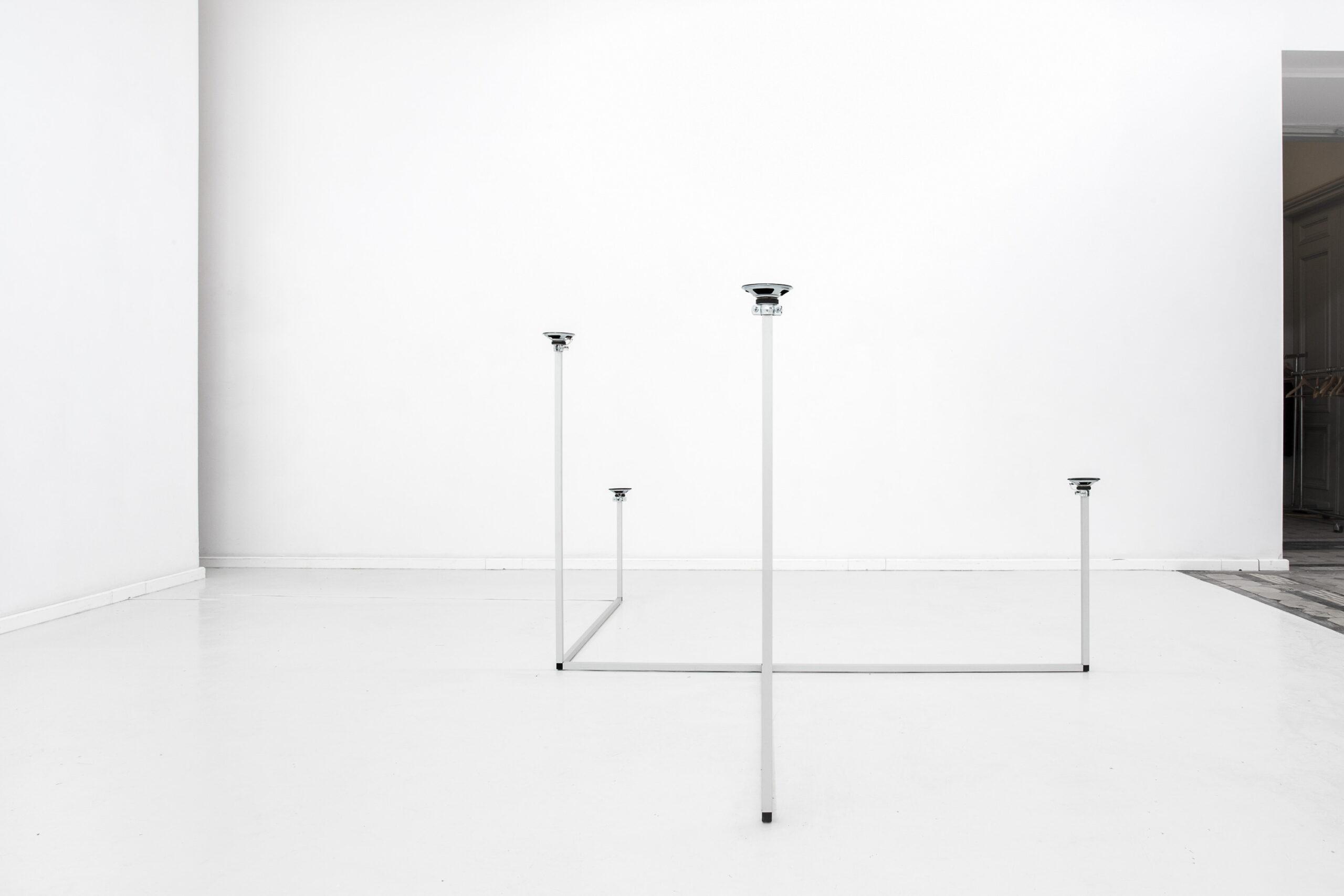 Jacek Doroszenko - How to travel - Sound installation - Warsaw - Exhibition 01