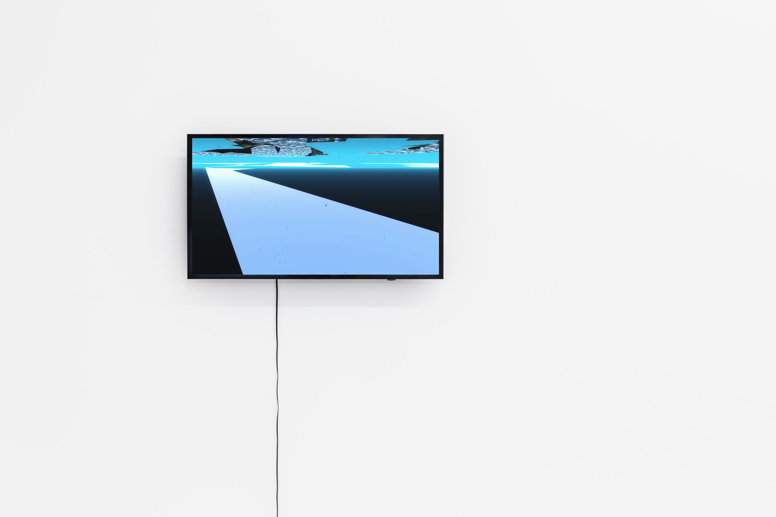 Jacek Doroszenko - Sound - Video - Warsaw - Exhibition 01