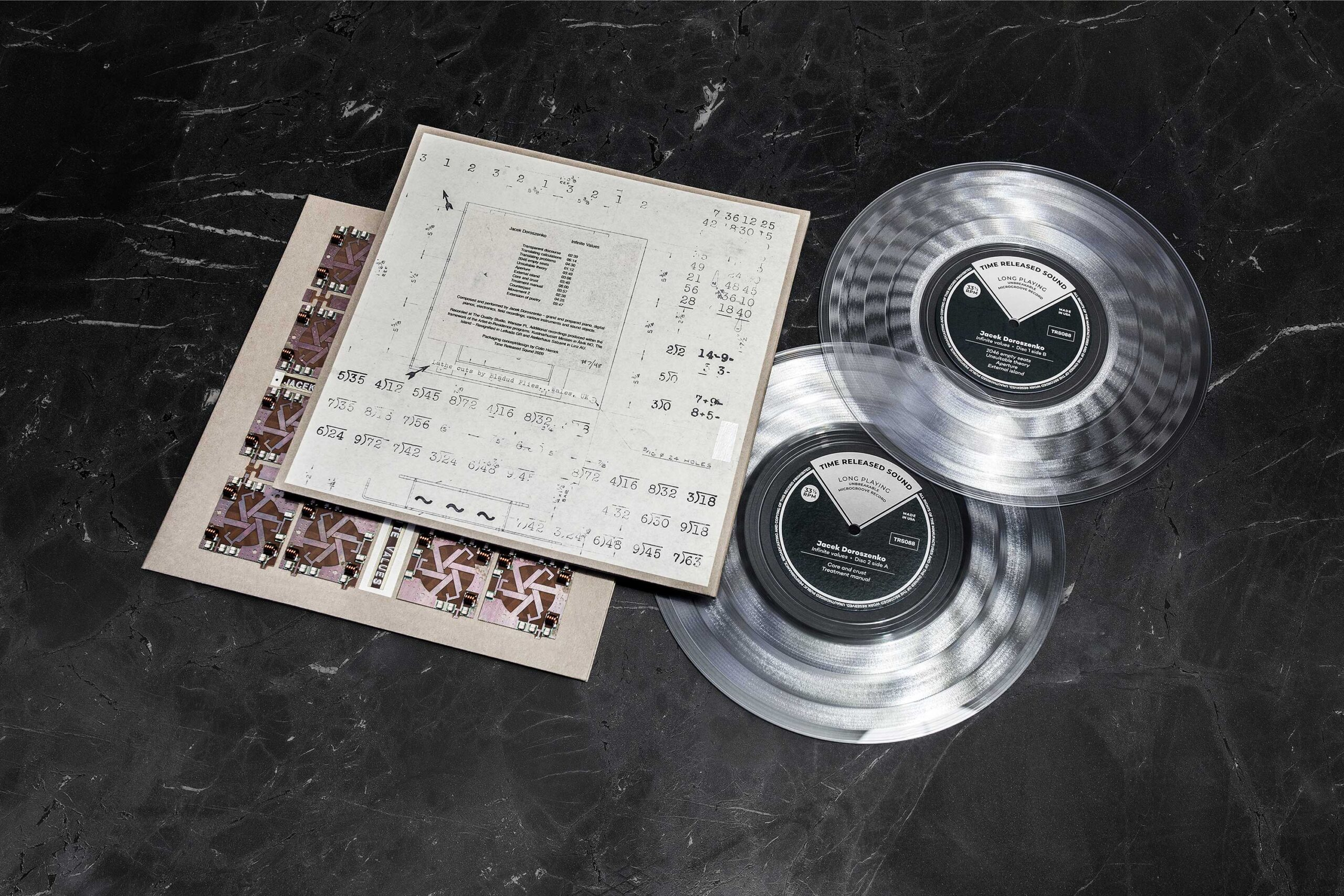 Jacek Doroszenko - Infinite Values, contemporary music album 03