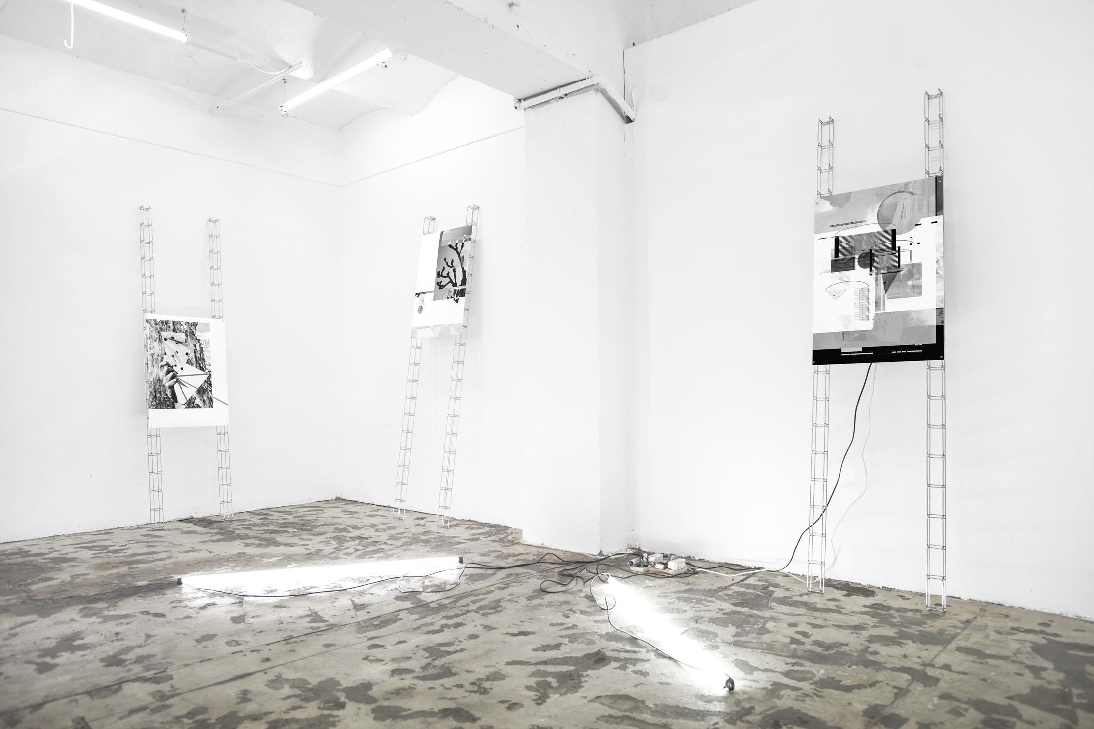 Jacek Doroszenko and Ewa Doroszenko - exhibition view, Petrohradska Kolektiv, Prague CZ / 04