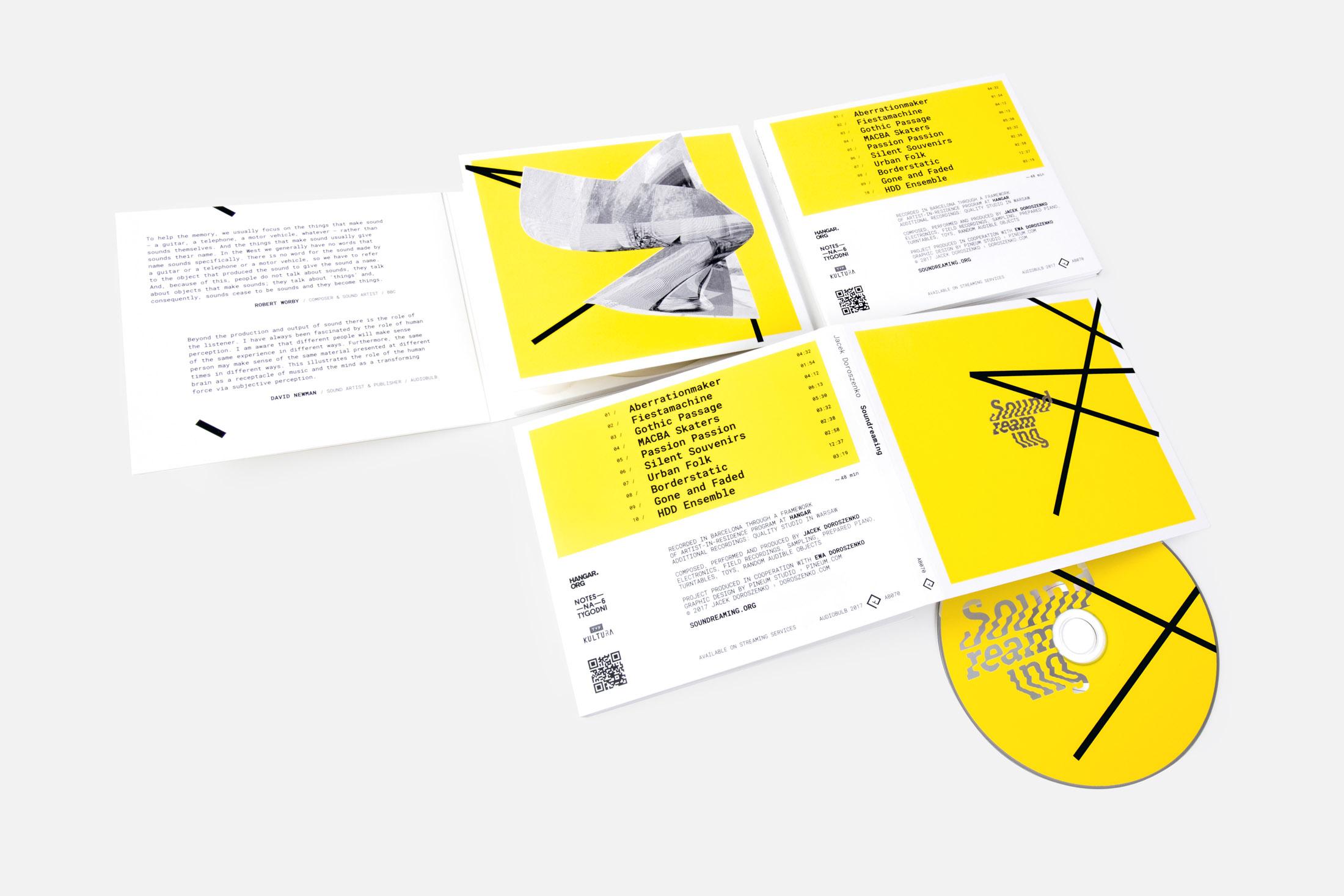 Jacek Doroszenko - Soundreaming album, Audiobulb 2017, detail 3