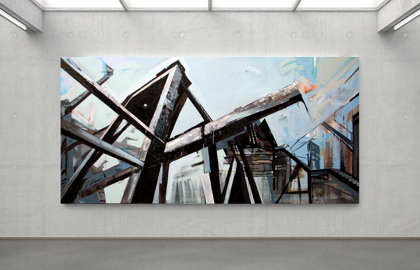 Jacek Doroszenko - Interface for the Memory, painting 01