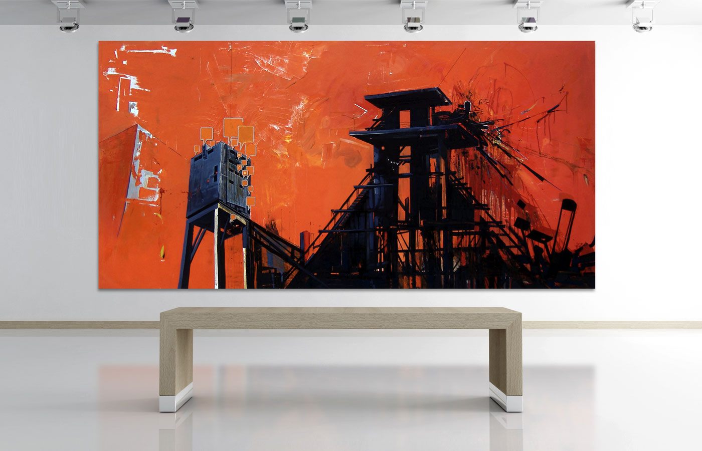 Jacek Doroszenko – Aesthetic Interface II, Painting, Exhibition 01