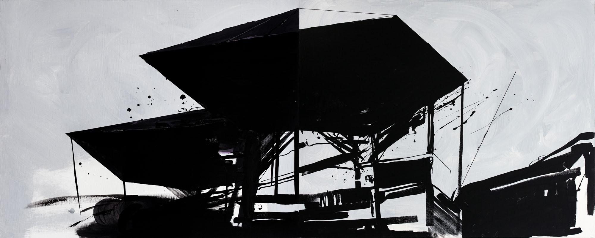 Jacek Doroszenko - Interface for the Memory, painting 02