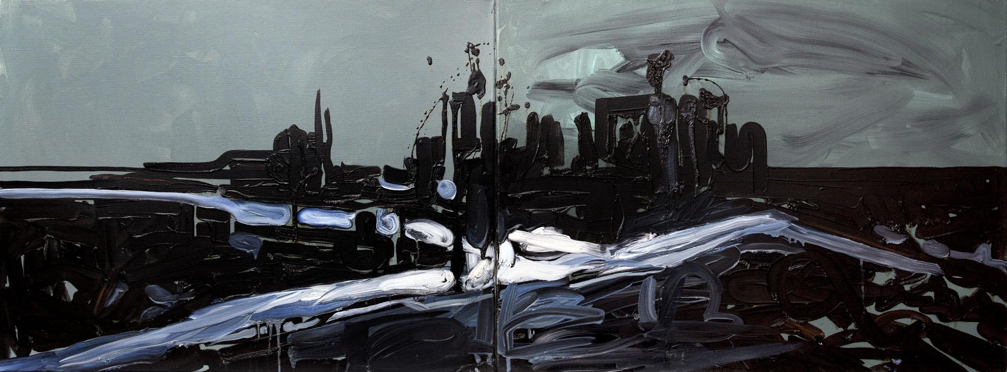 Jacek Doroszenko - The day after, painting 01