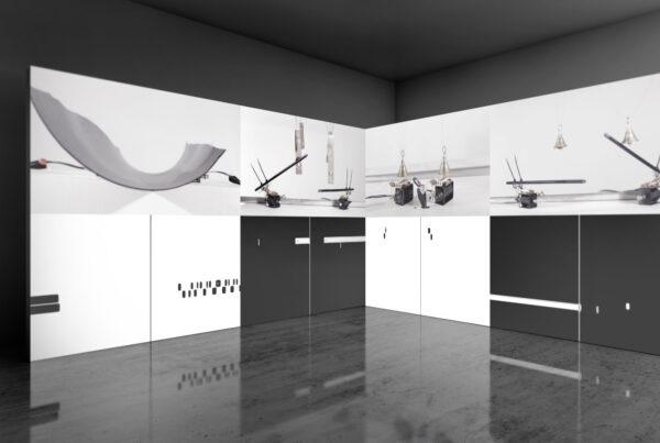 Visual and audio artist - Jacek Doroszenko - Metascore of new gestures - Exhibition 01