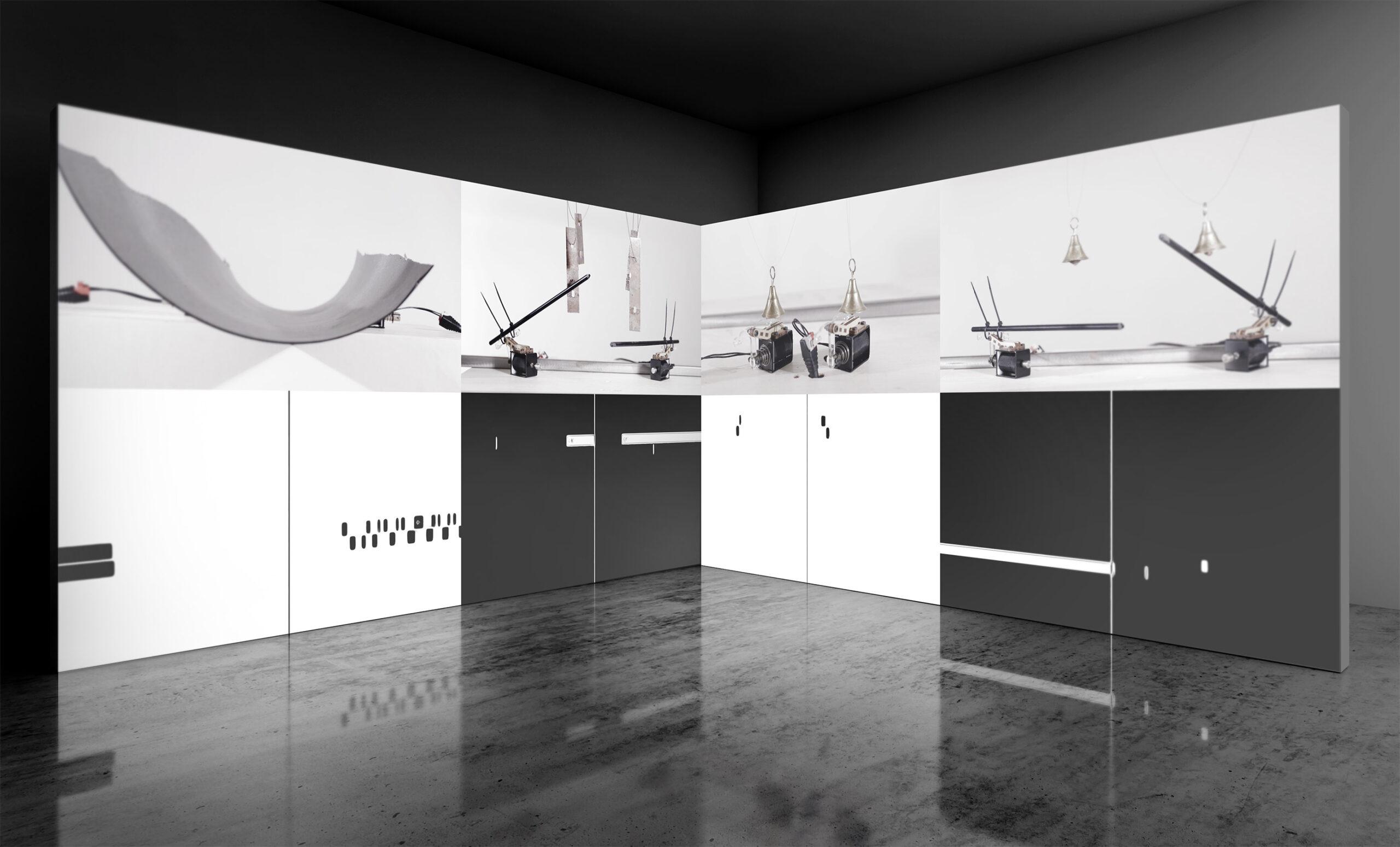 Jacek Doroszenko, Metascore of new gestures - video, exhibition 01