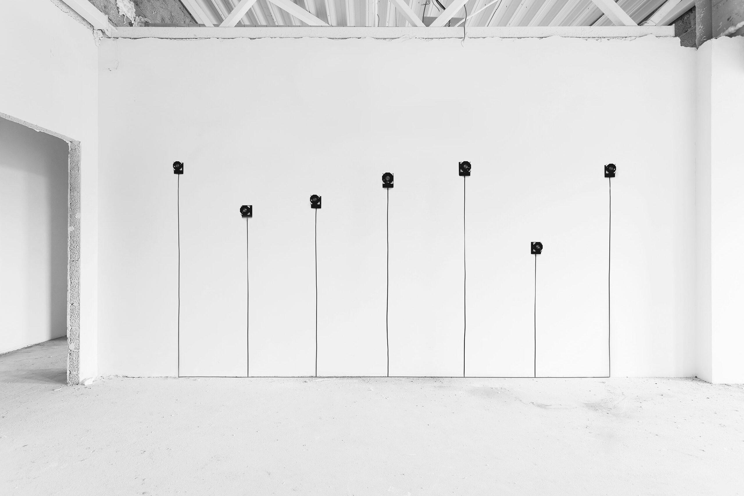 Jacek Doroszenko - Silent Souvenirs, sound installation, exhibition detail 04