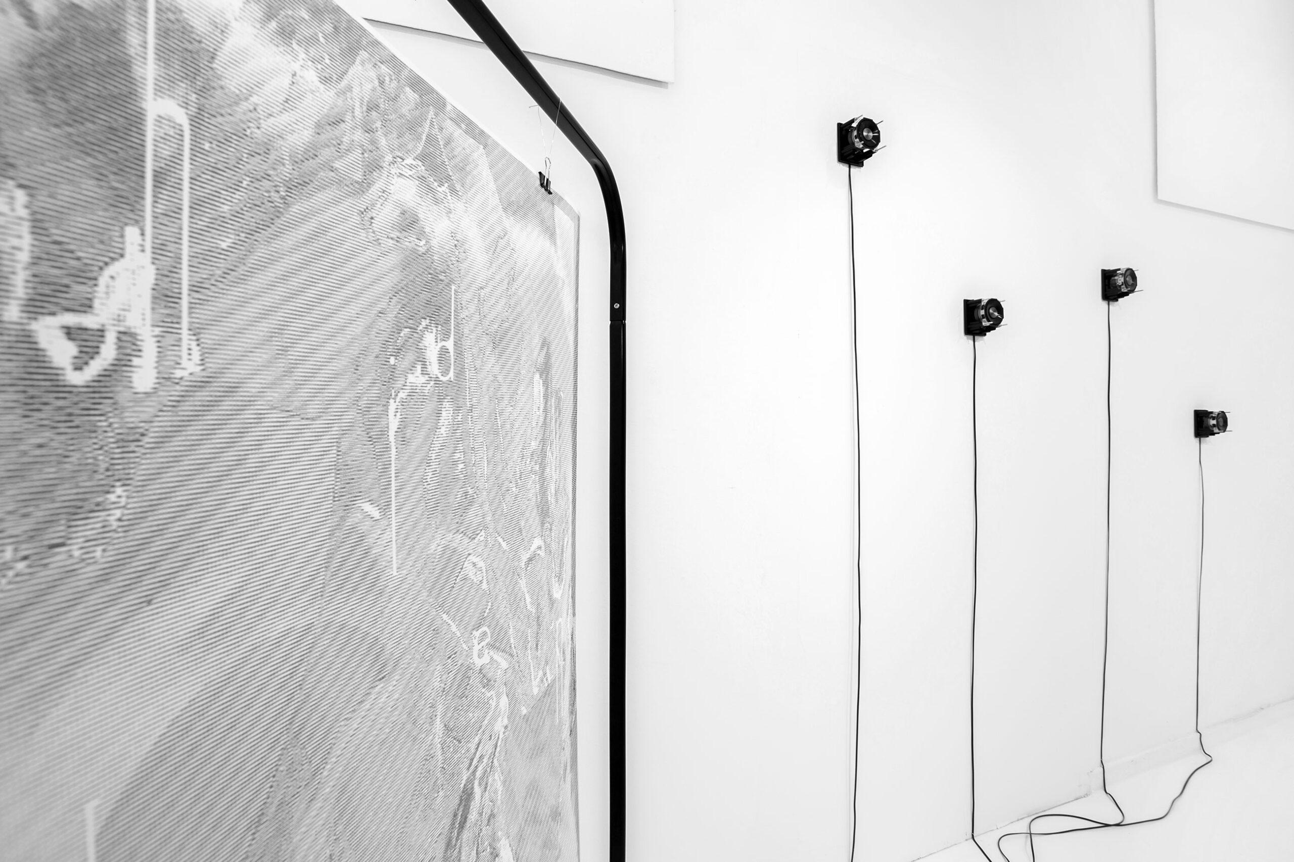 Jacek Doroszenko - Silent Souvenirs, exhibition detail 2, Galeria Wozownia, Toruń