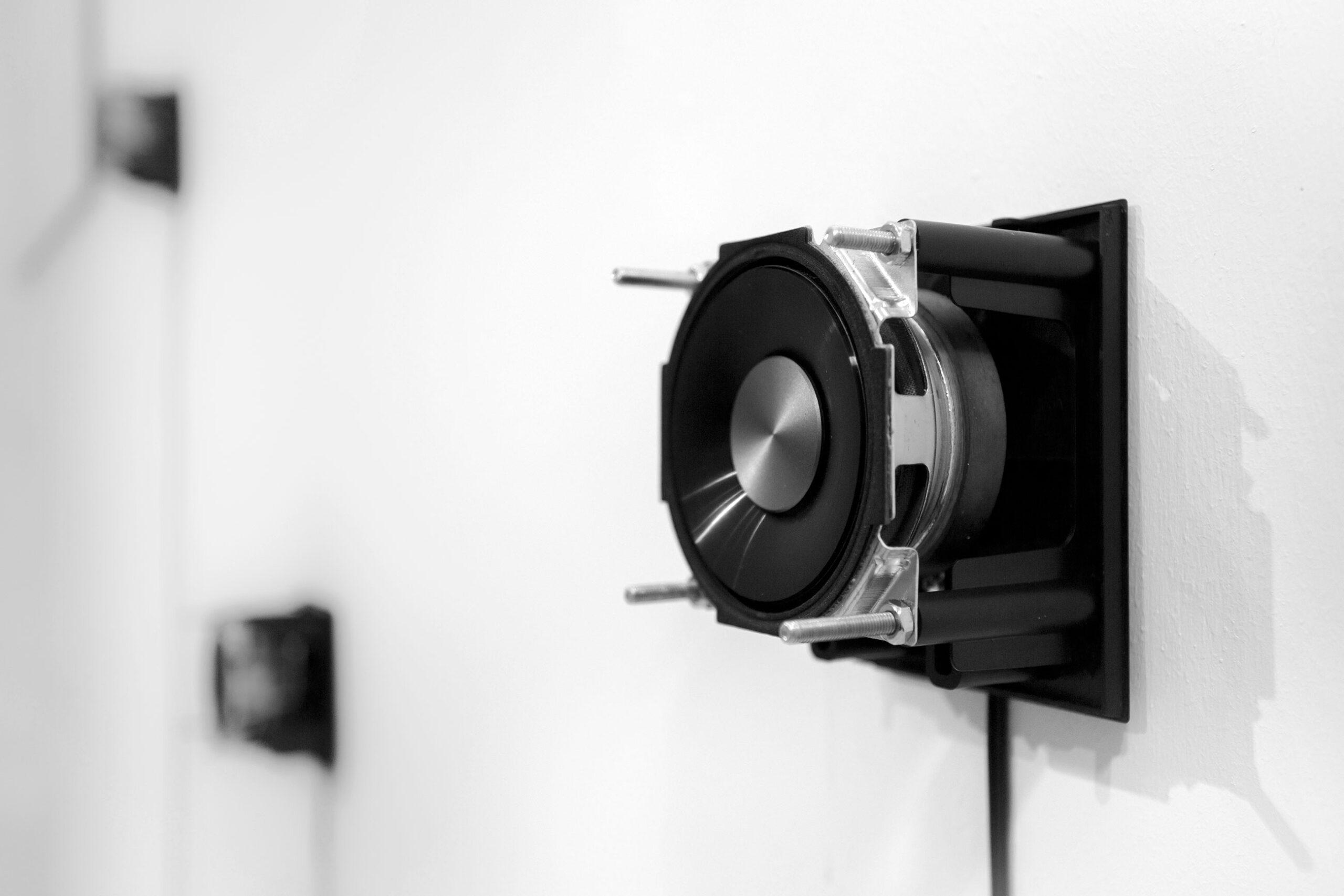 Jacek Doroszenko - Silent Souvenirs, sound installation, exhibition detail 01