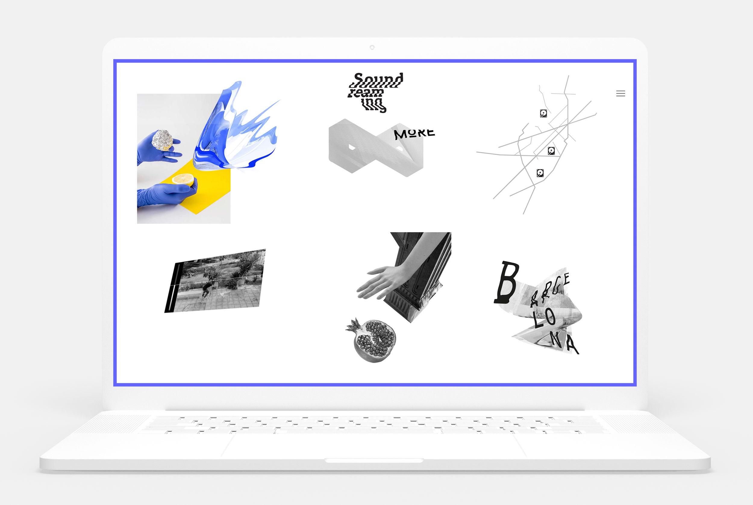 Jacek Doroszenko, Ewa Doroszenko - Soundreaming, website detail 2