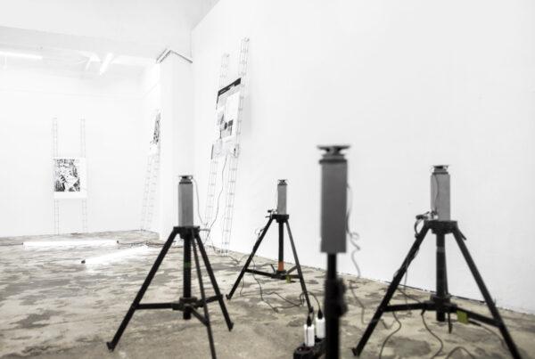 Jacek Doroszenko - Sound installation - Exhibition - Soundreaming - Prague 01