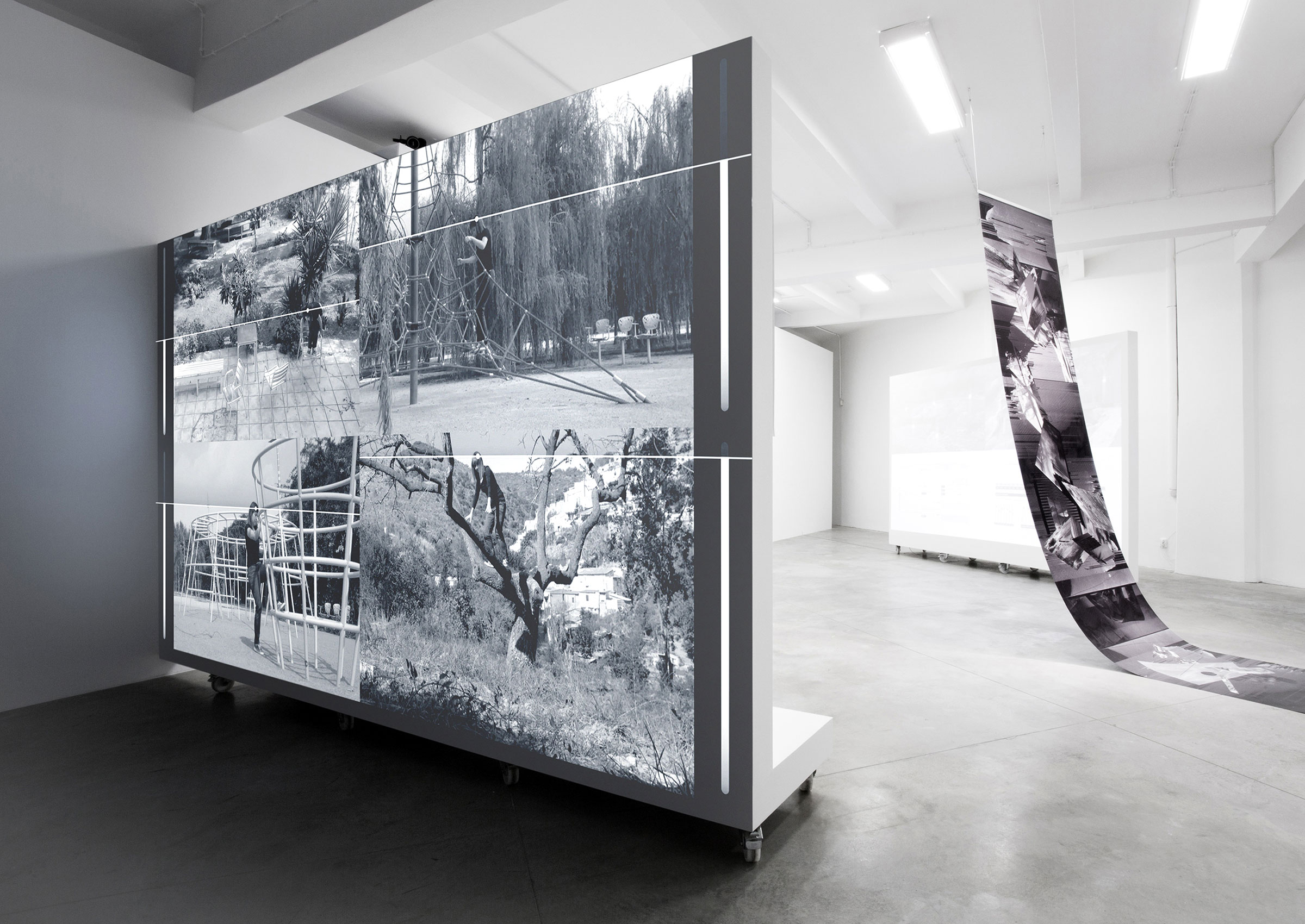 Jacek Doroszenko - The same horizon repeated at every moment of the walk - FAIT Gallery, Brno