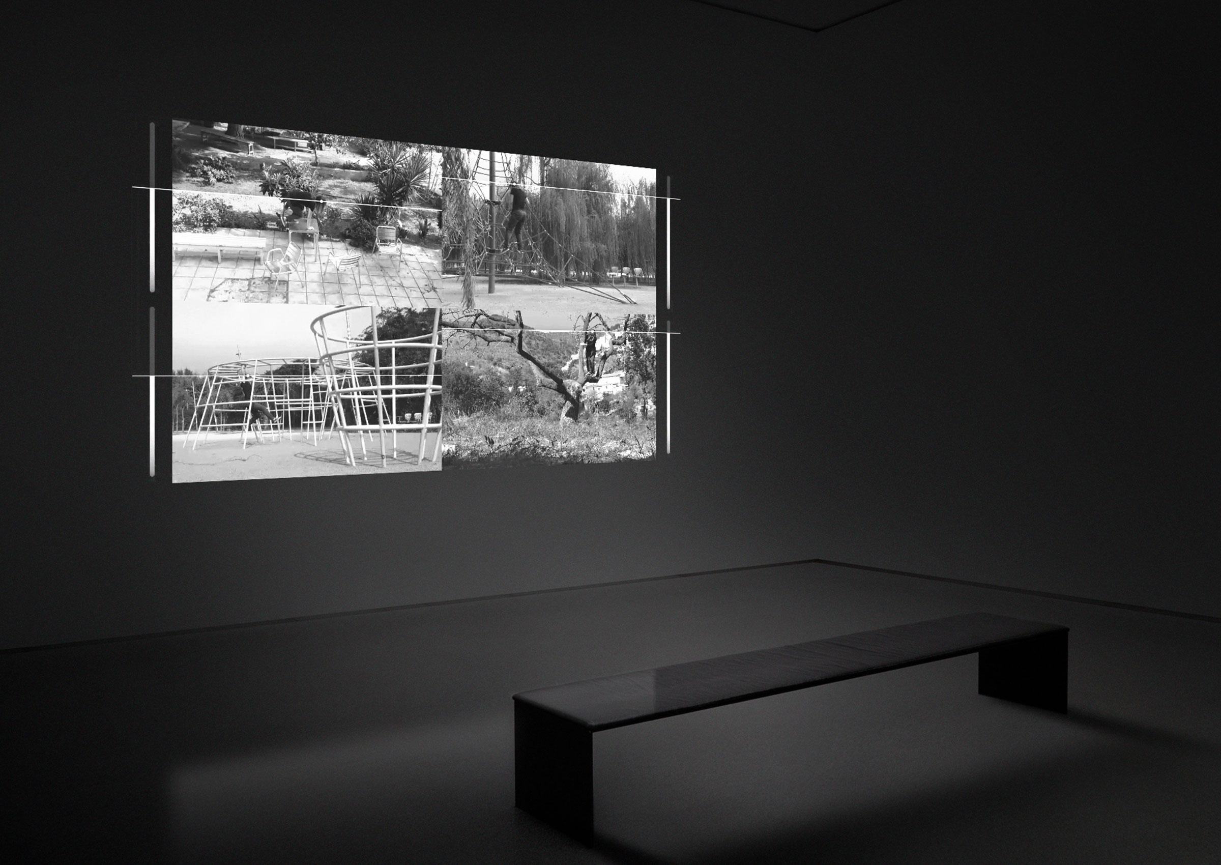 Jacek Doroszenko - The same horizon repeated at every moment of the walk - exhibition 1