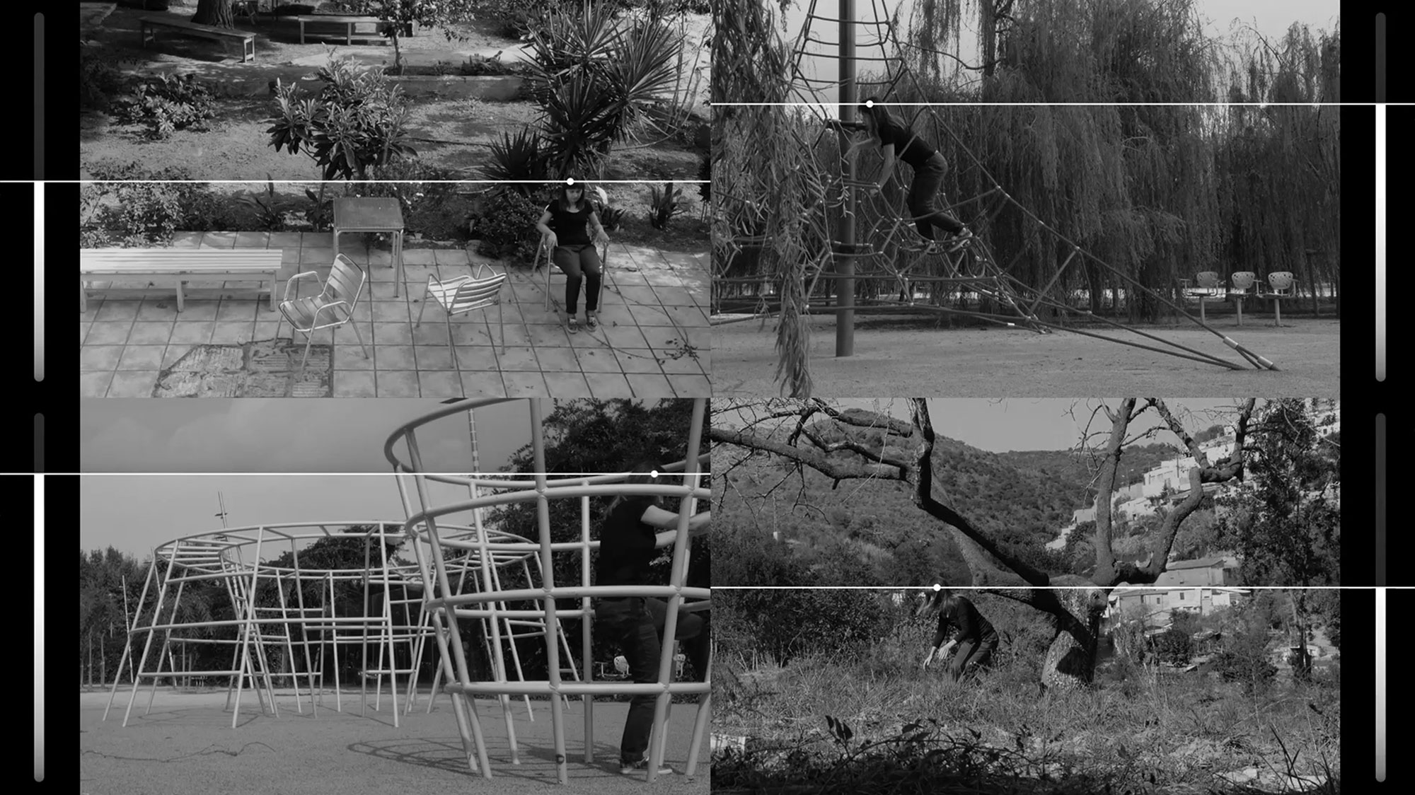 Jacek Doroszenko - The same horizon repeated at every moment of the walk - video 01